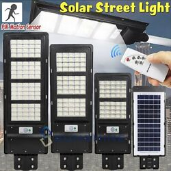 320000LM Commercial Outdoor Solar Road Lamp Dusk to Dawn IP67 LED Street Light