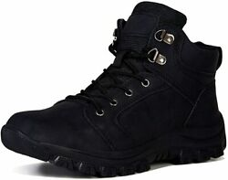 Mens Hiking Trekking Snow Boots Winter Waterproof Shoes Lace Up Anti Slip Ankle $93.32