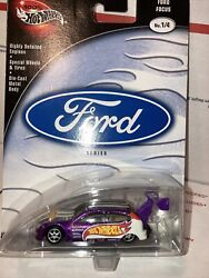 Hot Wheels Ford series Ford Focus Super wing on the back $15.00