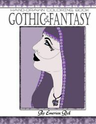 Gothic And Fantasy Adult Coloring Book