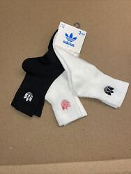 Adidas White Label Embroidered Trefoil Womens Socks $20.00