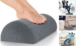 Foot Rest for Under Desk at Work Nordic Grey Firm Comfortable for Home $23.96