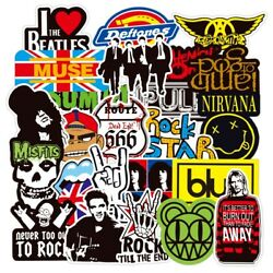 Rock Band 100 Stickers Lot Punk Music Heavy Metal Bands Sticker Decal $9.25