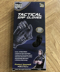 NEW Police Force Sap Gloves Tactical Leather Security Glove Large L $19.99