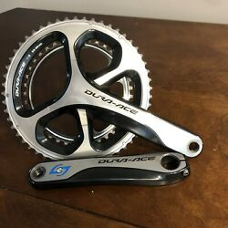 Shimano Dura Ace crankset. 180 Crank Length. 53 39 Rings. Stages Power Meter $395.00