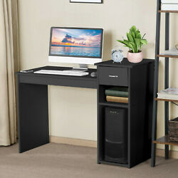 Home Office Computer Desk With Drawers Small Desk Dormitory Study Desktop $77.99