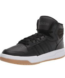 Adidas Entrap Mid men#x27;s sneakers basketball shoes size 12 core black gum FY5636 $69.99
