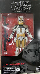 Hasbro Star Wars The Black Series Clone Commander Bly 6 inch Action Figure ... $27.00