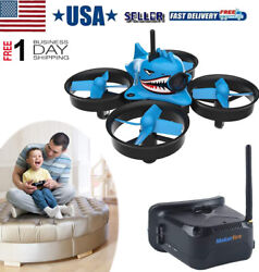 2021 NEW Micro FPV Racing Drone With Goggles Camera RTF Tiny Whoop Quardcopte $85.49