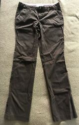 Old Navy Women#x27;s Pants Brown size 4 Long Low Rise