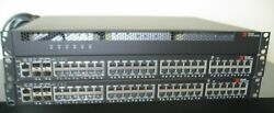 Brocade ICX6450 48P PoE STACKABLE SWITCH SET of 2 PLUS UPS READ ALL $650.00