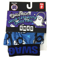 """Ghosted High Intensity Men Novelty Boxer Briefs mens S 28"""" 30"""" New With tags $12.95"""
