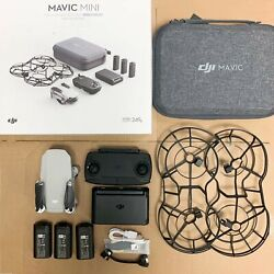 DJI Mavic Mini Combo Drone Quadcopter UAV w 2.7K Camera 3 Axis Gimbal Gray $365.00