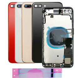 Replacement Glass Housing Battery Back Cover Frame Assembly For iPhone 8 Plus X $24.99