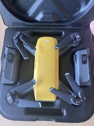 DJI Spark HD Camera Drone * Fly More Combo * Sunrise Yellow *Great Condition* $350.00