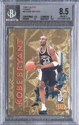 KOBE BRYANT ROOKIE CARD 1996 Pacific Power GOLD #6 BGS 8.5 GREAT SUBS 2X 9.5 SUB $446.25