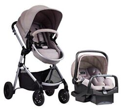 Evenflo Pivot Travel System With Safemax Rear Facing Infant Car Seat Save Funny $382.00