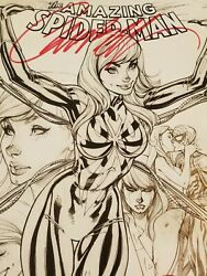 The Amazing Spiderman 15 J. Scott Campbell MJ Iron Spider Variant Signed $70.00