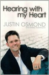 HEARING WITH MY HEART By Justin Osmond Hardcover **BRAND NEW** $33.95