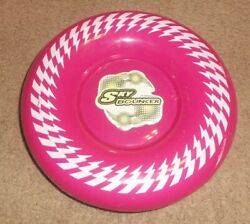 Pink Rare Maui Toys Full Size 8.5quot; Sky Bouncer Flying Disc Bounces to 25 Feet $29.99