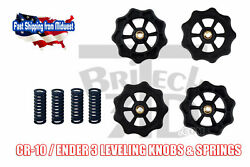4Pcs Hot Bed Leveling Nuts Springs For Creality Ender 3 Pro CR 10 V2 $9.99