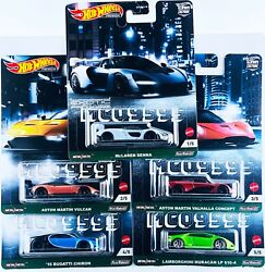HOT WHEELS 2021 CAR CULTURE EXOTIC ENVY COMPLETE SET OF 5 CAR IN STOCK $28.99