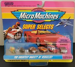 GALOOB MICRO MACHINES 64000 SUPER SELECTS COLLECTION #2 1992 NIP $69.49