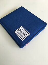 New Herschel Supply Designer Men#x27;s Roy Street Style Bi Fold Wallet RFID Protect