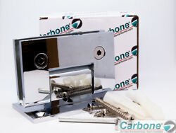 Carbone Frameless Pivot Shower Door Wall to Glass Hinge 90 Degree L 2121 CP $19.99