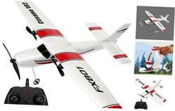 RC Plane 2.4Ghz 2 Channels RC Airplane DIY Remote Control Airplane with 3 $58.38