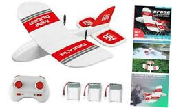 KF606 RC Plane 2.4Ghz Remote Control Airplane EPP Foam Fixed Wing 3 Battery $51.23