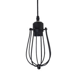 Edison Vintage Pendant Light Chandelier Wire Cage Ceiling Hanging Lampshade $18.03