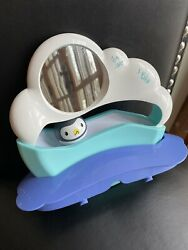 Evenflo Exersaucer Polar Bouncing Playground Penguin Roller Toy Replacement Part $9.95