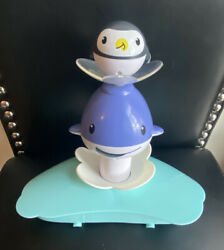 Evenflo Exersaucer Polar Bouncing Playground Penguin Whale Toy Replacement Part $9.95