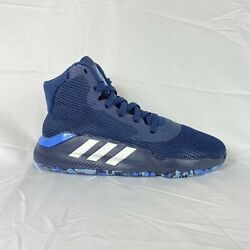 Adidas 2019 Pro Bounce Mens Sz 9 Blue F97283 Basketball Shoes New With Box Tags $69.97