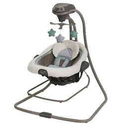 Graco DuetConnect LX Baby Swing and Bouncer for Babies $90.99