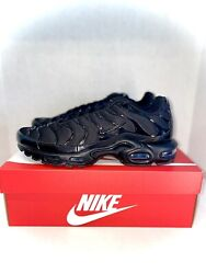 NEW Nike Air Max Plus Triple Black Size 7.5 Men's Style Code 604133 050 🔥