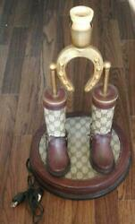 Authentic Gucci 1970s Antique Lamp Only Stand $2320.00