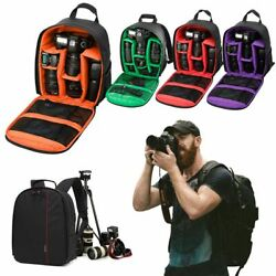 Large Camera Backpack Bag for Canon Nikon Sony DSLR amp; Mirrorless by Altura Photo $14.50