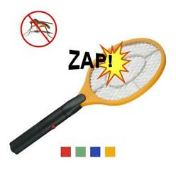 Electric Mosquito Fly Swatter Zapper Racket Handheld Bug Insect Pest Wasp Killer $8.48