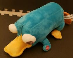 Disney Parks Phineas And Ferb Perry the Platypus Plush With Sounds $18.50