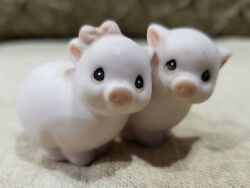 Tiny Collectible Baby Pig Piglet Figurine $8.99