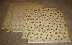 Carta Bella 12x12 Double Sided Scrapbook Papers 4 Country Kitchen Roosters $2.99