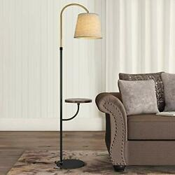 """OYEARS Modern Floor Lamp with Table for Living Room 66.5"""" Minimalist Tray Flo... $129.36"""