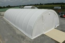 Covermore 30#x27; END WALL for 30x40 30x65 or 30x85 Round Canvas Storage Buildings $600.00