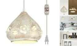 Hanging Lamps Swag Lights Plug in Pendant Light 16 FT Cord and Chain Hanging $62.54