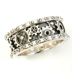 Fashion Gear Jewelry 925 Silver Rings Party for Women Band Rings Gifts Size 6 10 C $2.08