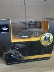 3c Combat Helicopter The Sharper Image RC Chopper $29.99