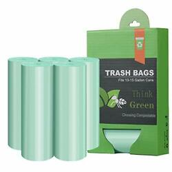 Tall Kitchen Trash Garbage Bags13 15 Gallon Compostable Trash bags Heavy Duty $29.08