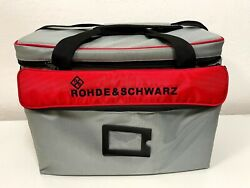 Rohde and Schwarz RTM Z3 Soft Carry Case Bag for Oscilloscopes Excellent R amp; S $175.00